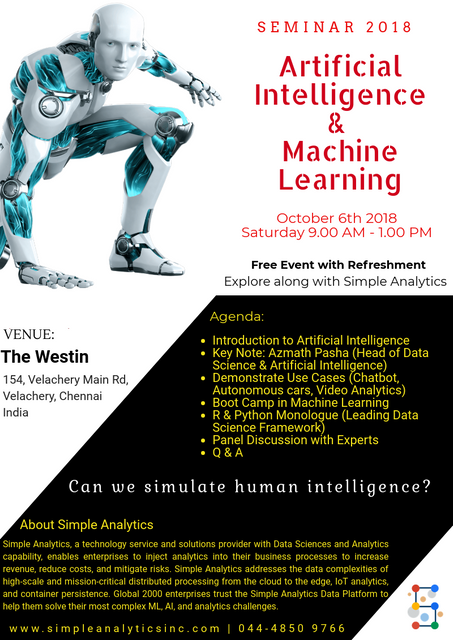 AI Launch Poster