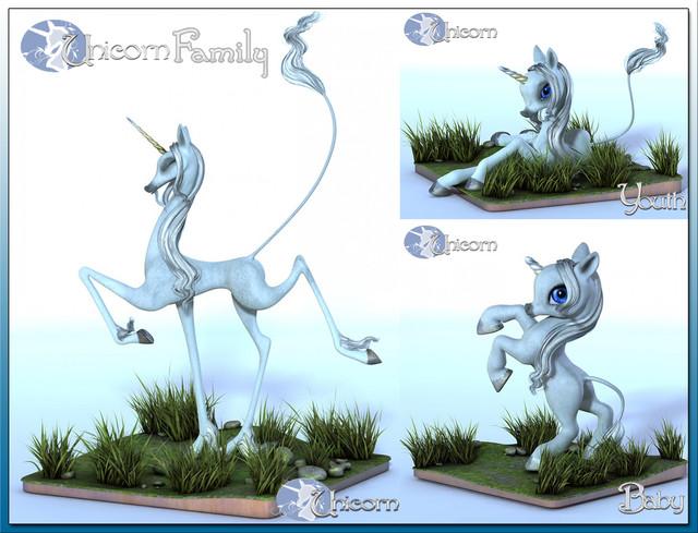 The Unicorn Family Bundle