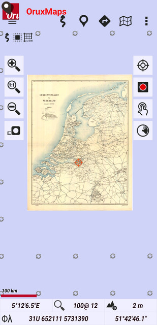 Dutch historical maps from a wmts service oruxmaps image freerunsca Image collections