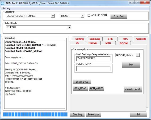 ZTE Z432 (ZTE Firmware Lastest Version) IMEI Repair 1st In The World