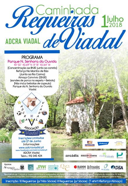 Cartaz_Caminhada_Regueiras_Viadal