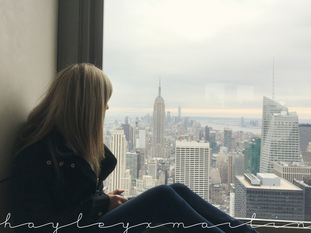 hayleyxmartin | Top of the Rock, New York