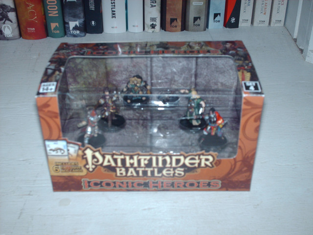 Pathfinder Battles Iconic Heroes 1