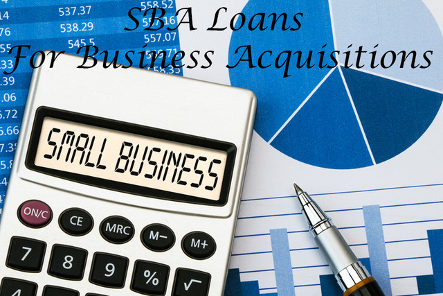 SBA Loans For Business Acquisitions