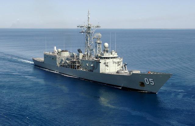 RIMPAC 2018 HMAS Melbourne 3 FRIGATE MISSILE SHIP