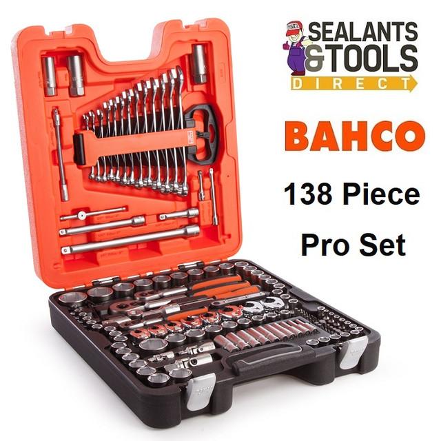 Bahco Mixed Socket Spanner Set 138 Piece BAHS138