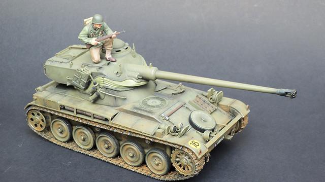 AMX-13 รถถังขนาดเบา 1/35 นอกไลน์ โดย gon pumjorn