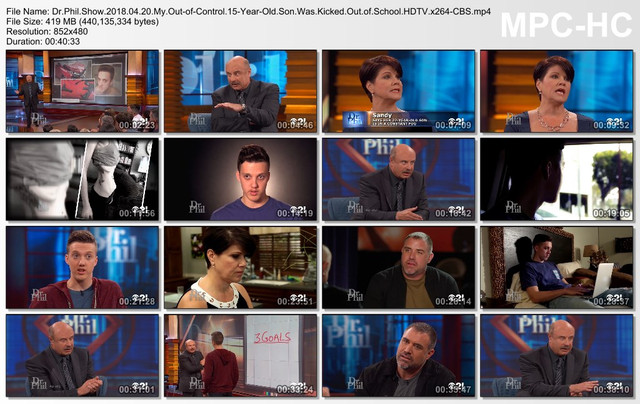 Dr Phil Show 2018 04 20 My Out-of-Control 15-Year-Old Son Was Kicked Out of School HDTV x264-CBS mp4
