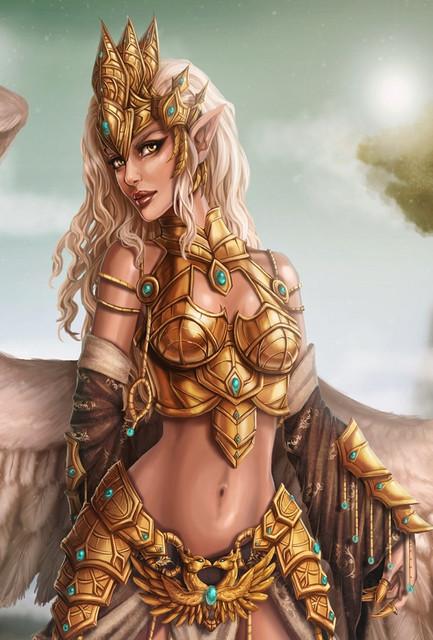 Fantasy-girl-angel-wings-warrior-1920x1200