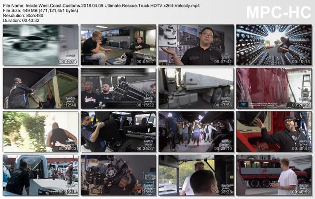 Inside West Coast Customs 2018 04 09 Ultimate Rescue Truck HDTV x264-Velocity mp4