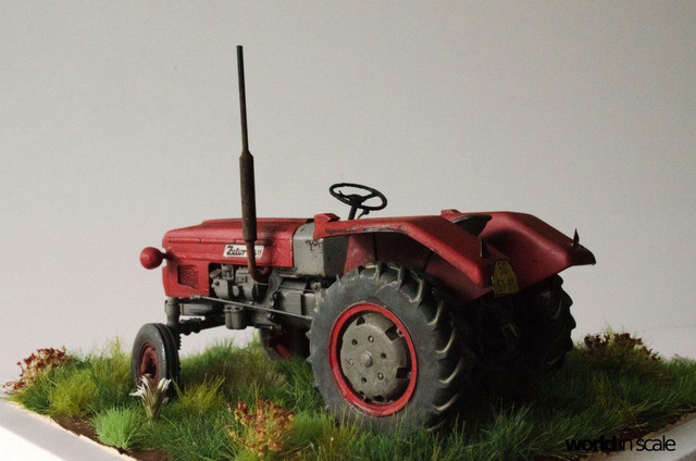 Zetor 3511 - 1:35 of SKP Models 24068796_946722188828630_3398401117526867106_o