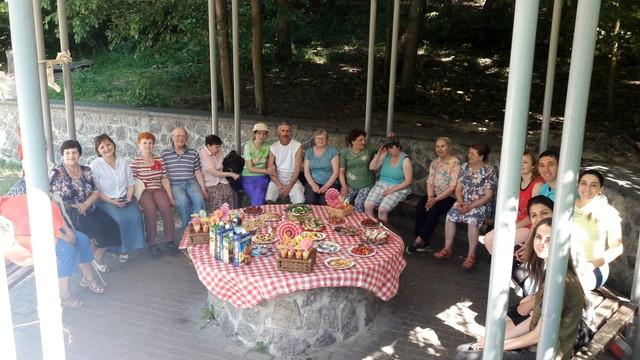 """Пікнік з групою """"Халев"""""""