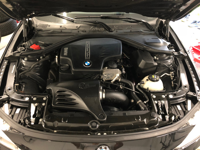 320i Engine Bay Post Install