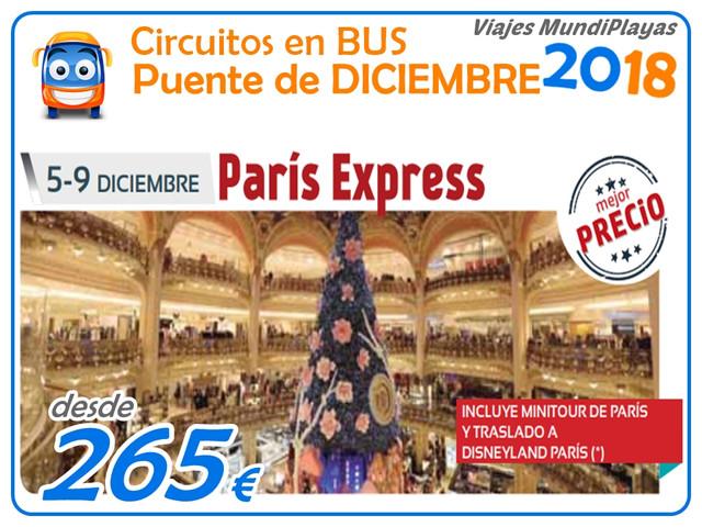 paris express MUNDIPLAYAS