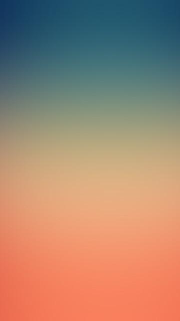 Fondo de pantalla del iPhone papers co sk83 blue orange night blur gradation iphone 6 plus