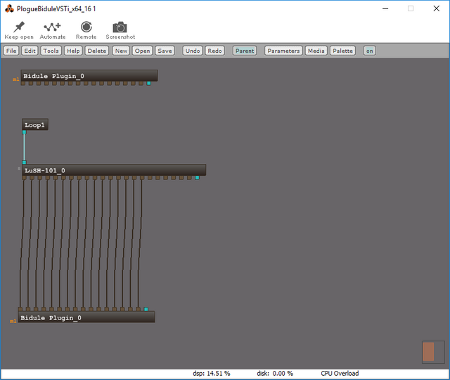 Multitimbral VSTs Guide - Plogue Bidule and MIDI Loopback